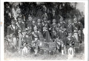 Minyip Pipe Band 1
